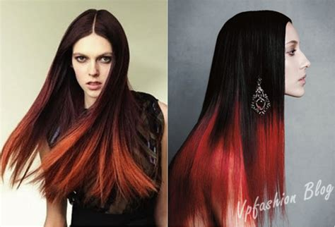hairstyles black and red hair light your life with red ombre hair extensions vpfashion