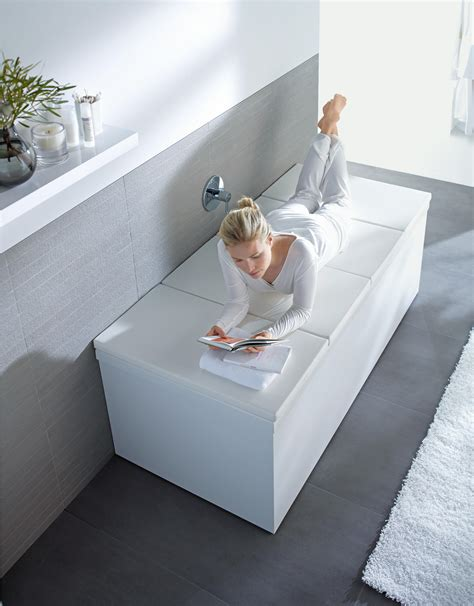 bathroom cover bathtub cover shelves from duravit architonic