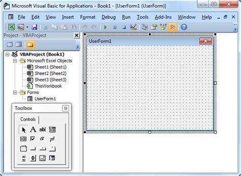 creating visual basic forms in excel excel vba userform easy excel macros