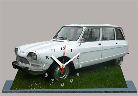 chasis ami 8 mitula autos citroen ami 8 break blanc en horloge miniature