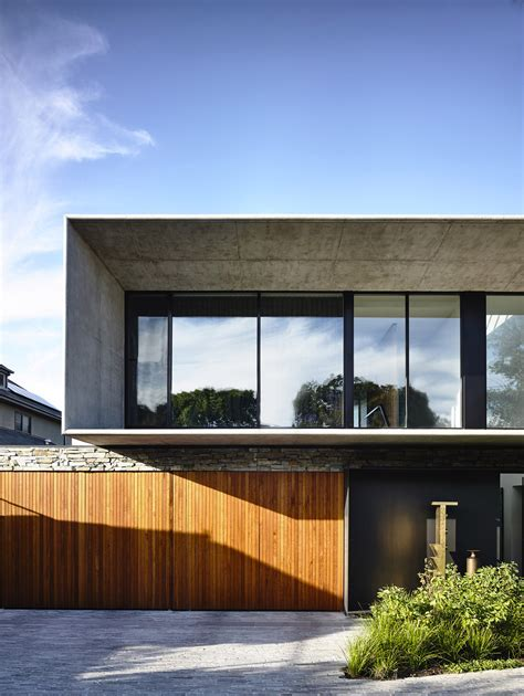 concrete and wood house modern designs within gallery of gallery of concrete house matt gibson architecture 14