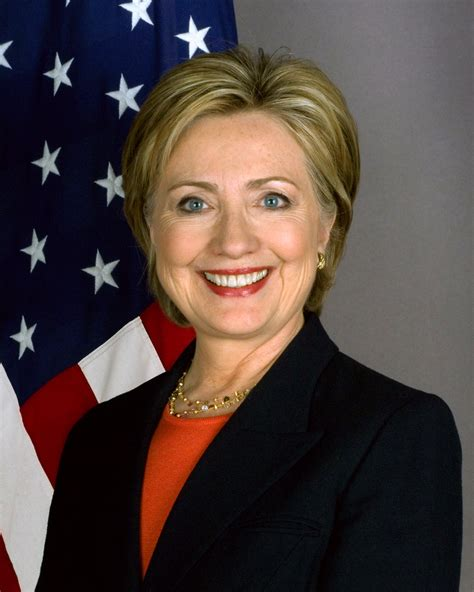 hillary clinton s childhood file hillary clinton official secretary of state portrait