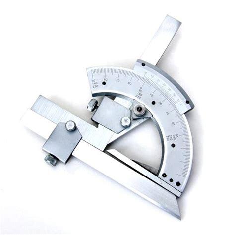 Penggaris Busur Stainless Steel Protractor universal protractor stainless steel 0 320 degrees ed
