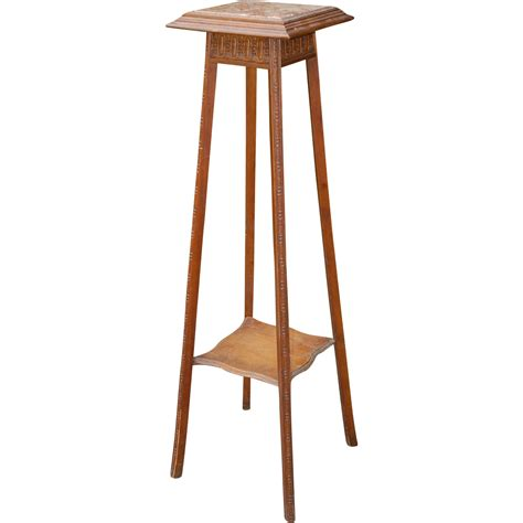 Plant Stand Deco Plant Stand Table Carved Wood Furniture From