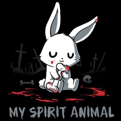 killer rabbit tattoo my spirit animal killer bunny drawings