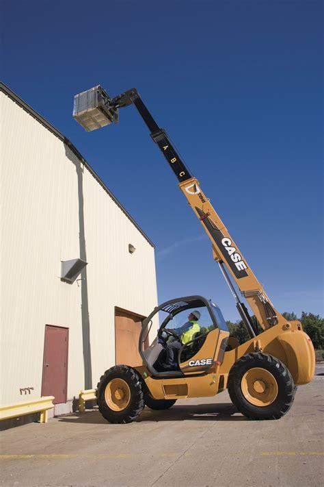 case construction equipment cnh tx series telehandlers