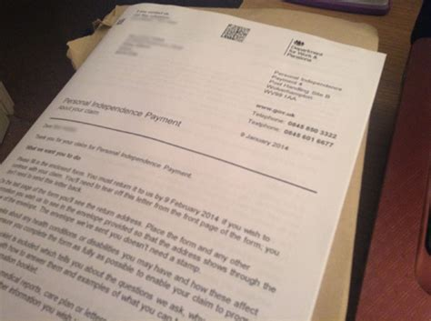 Appeal Letter For Personal Independence Payment A Slight Change Of Pace Emsyblog