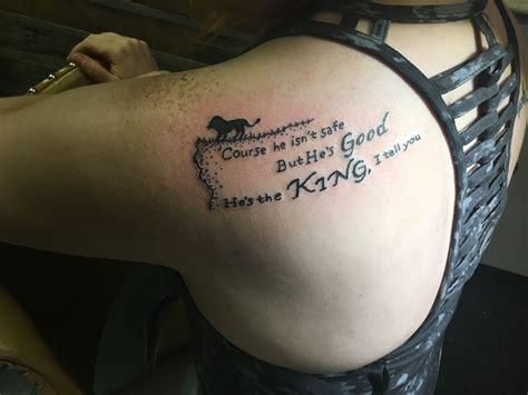 aslan tattoo narnia aslan tattoos tattoos new