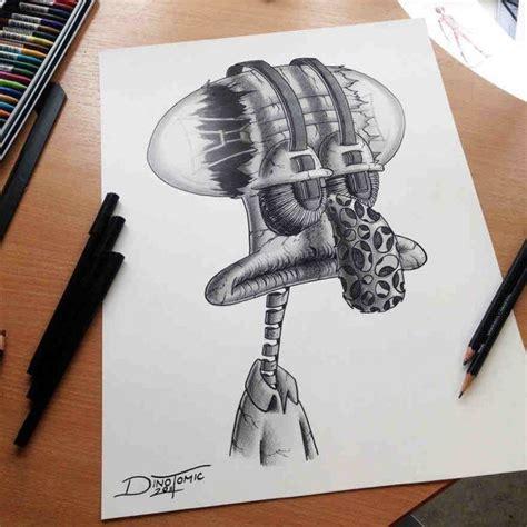 dibujos realistas y fantasticos fant 225 sticos dibujos a l 225 piz de dino tomic arte feed
