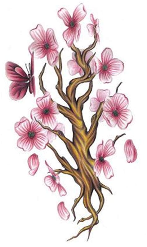dogwood tree tattoo design images by kyle watts