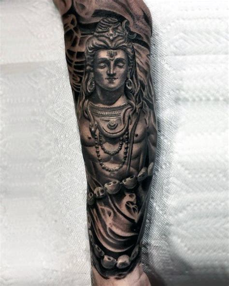 hindu tattoos for men 60 shiva designs for hinduism ink ideas