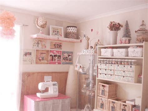 shabby chic craft rooms craft room inspiration designs