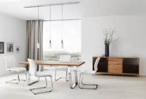 Modern White Dining Room Set Modern White Chrome Dining Room Furniture Set Plushemisphere