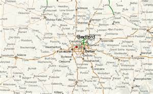 map of bedford bedford location guide