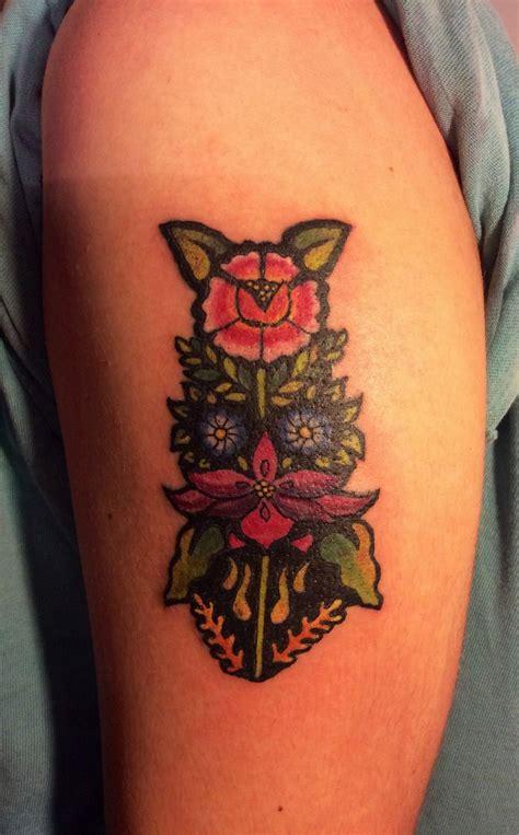tattoos mexicanos flores tehuanas dise 241 o propio inspirado en los