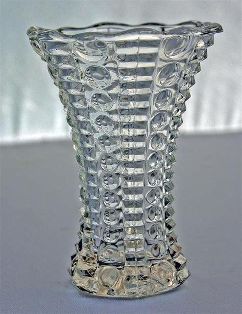 Corner Vases by Vintage Glass Vase 5 00 From Corner Antiques In