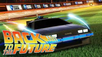 Rocket league back to the future dlc review ps4 blog by el