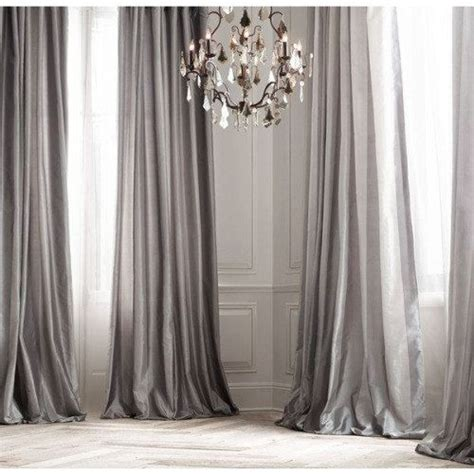 silk net curtains platinum silk curtain dupioni silk grey silver window