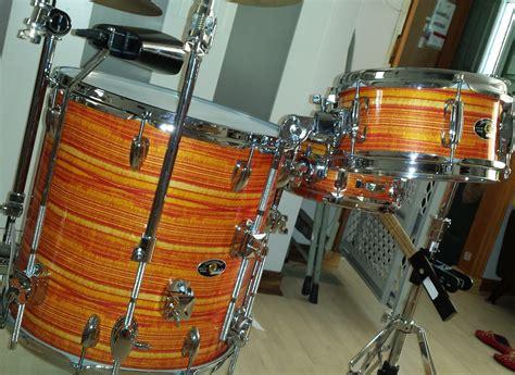 Pearl Wrap by Tangerine Pearl Strata Drum Wrap Walopus Drum Wrap