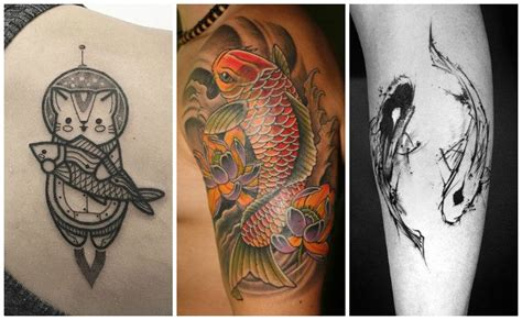 tattoo pescado koi significado tatuajes de peces para hombres y mujeres significados y
