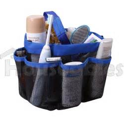 shower caddy mesh 8 pocket portable travel tote