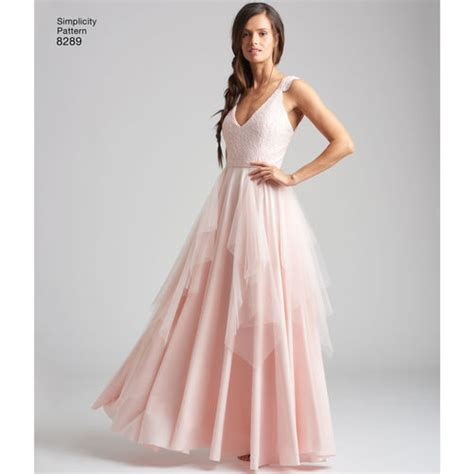 Simplicity Home Decor Patterns by Simplicity Pattern 8289 Misses Special Occasion Dresses