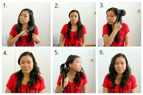 runglette curls step by step style your hair with conair la vie en may petite