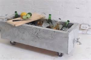 Concrete Diy by Diy Concrete Planter Doubles As An Industrial Chic Drink