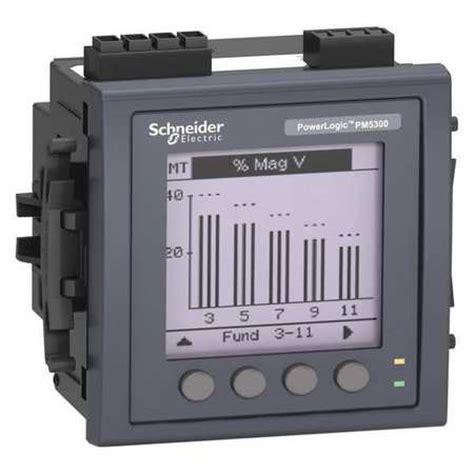 schneider electric metsepm5330 power meter ebay