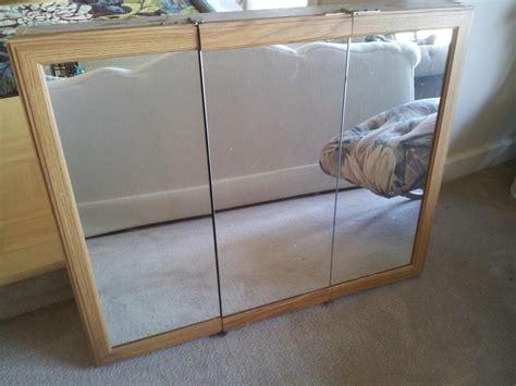 3 way mirror cabinet medicine cabinet three way mirror saanich