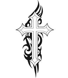 christian cross tattoos cool cross tattoos designs