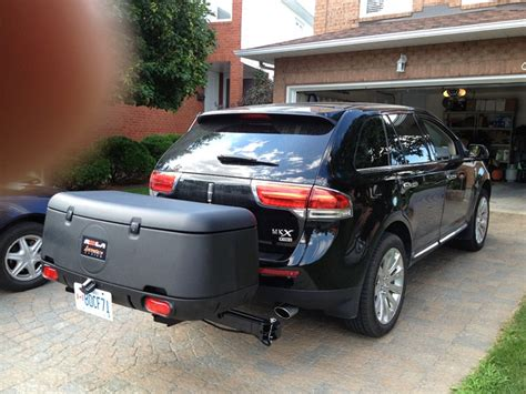 volvo cargo carrier 2013 volvo xc60 rola swinging enclosed cargo carrier for 2