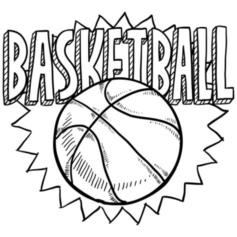 free basketball coloring pages coloring home get this free basketball coloring pages 834920