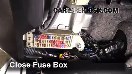 Interior Fuse Box Location 2013 2016 Subaru Brz 2013
