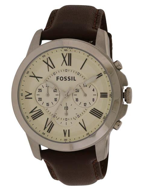 Fossil Fs4735 Original Garansi Resmi fossil grant chronograph leather mens fs4735 ebay