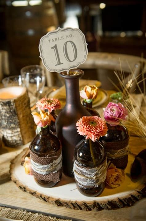 centerpieces made from nature find inspiration in nature for your wedding centerpieces 40 creative ideas