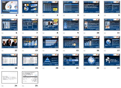 Ppt Vorlage Blau Powerpoint Vorlage Goldfische Blau Sofort