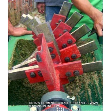 Mesin Pengayak Kompos Tertutup rotary silo fermentor rfs 1700 l