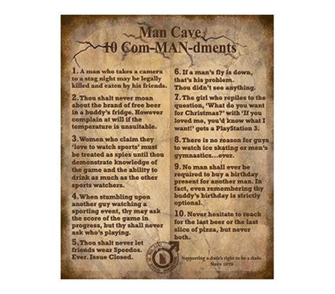 Cheap White Desks The 10 Commandments Funny College Tin Sign Dorm