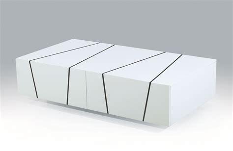 Unique white zebra high gloss coffee table with storage drawers phoenix arizona j amp m 127