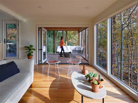 breathtaking mid century modern sunroom designs