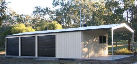 multi garage garaport aussie sheds