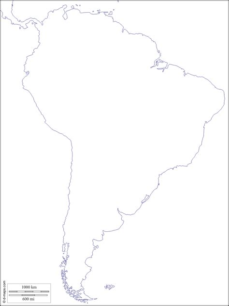 and south america outline map south america outline map free blank estarte me