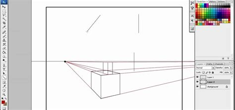 0 Point Perspective Drawing by How To Draw In 2 Point Perspective The Easiest Way