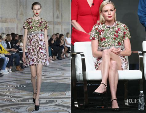Kate And Delta Goodrem In Giambattista Valli Who Wears It Better by Kate Bosworth In Giambattista Valli Couture 2017 Summer