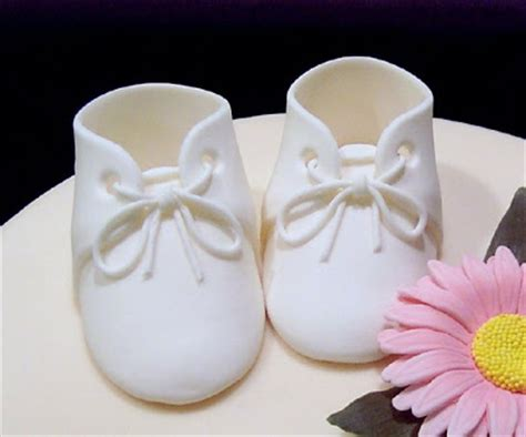 fondant booties template baby booties pattern for fondant