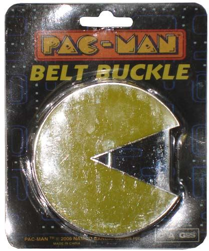 Pacman Belt Buckle And Tie From The Ex Boyfriend Collection by Pac Belt Buckle
