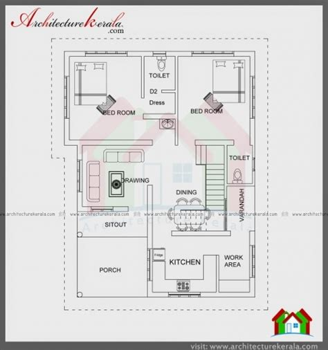 kerala house plans 1200 sq ft stylish 1200 sq ft house plans kerala style arts 1200 sq ft single floor house plans