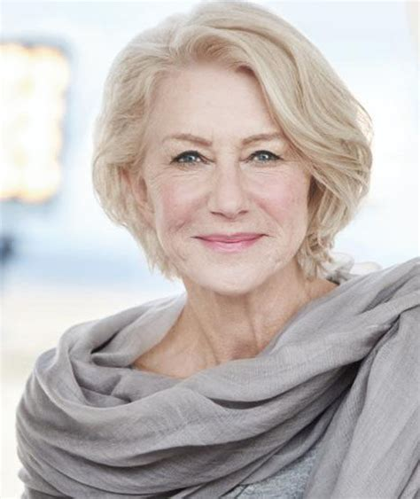 hairstyles for women over 50from loreal dame helen mirren through the years galleries pics