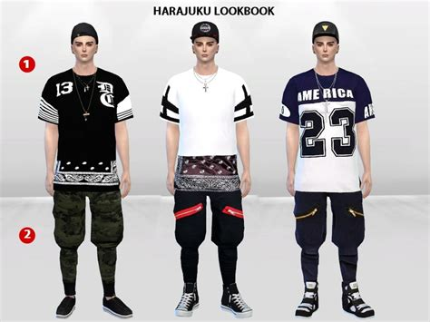 Harajuku Set mclaynesims harajuku lookbook set
